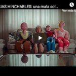 'Familias hinchables', una campaña para concienciar sobre la soledad no deseada de las personas mayores