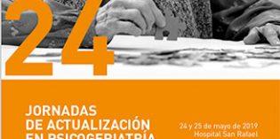 Depresión, atención comunitaria y eutanasia, protagonistas en las XXIV Jornadas de Actualización en Psicogeriatría