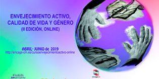 """Nueva edición online del curso de especialización """"Envejecimiento Activo, Calidad de Vida y Genero"""""""