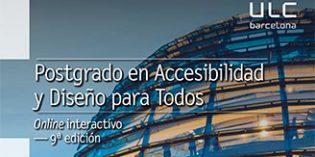 Nueva edición del Postgrado en Accesibilidad y Diseño para Todos