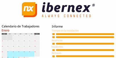 geriatricarea Ibernex Control de Accesos