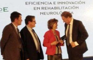 "Grupo Casaverde distinguido con el premio a la ""Eficiencia e Innovación en Rehabilitación Neurológica"""