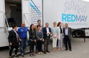 La Xunta pone en marcha RedMay, servicios sanitarios móviles para personas mayores de entornos rurales