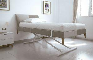 El Sistema Levelit permite una fácil y cómoda regulación de la altura de la cama