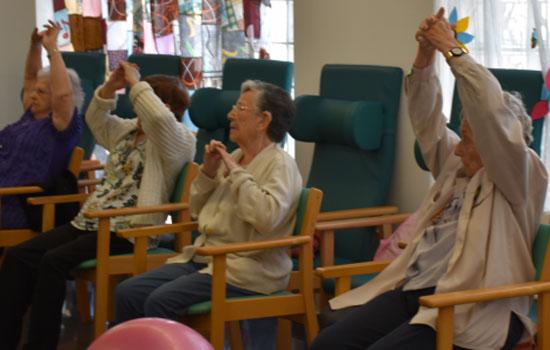 geriatricarea actividad fisica siel bleu