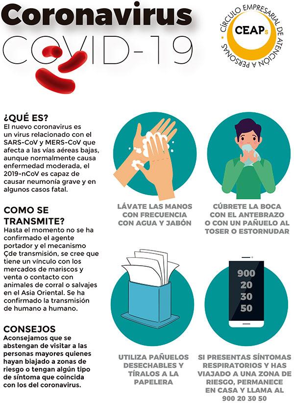 geriatricarea coronavirus CEAPS