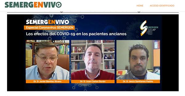 geriatricarea COVID-19 semergen
