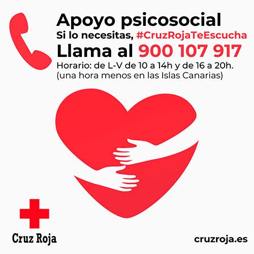 geriatricarea Cruz Roja Te Escucha