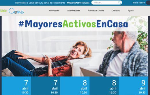 geriatricarea #MayoresActivosEnCasa