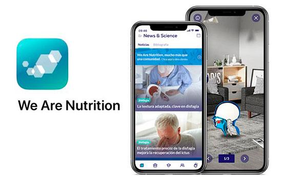 geriatricarea app We Are Nutrition
