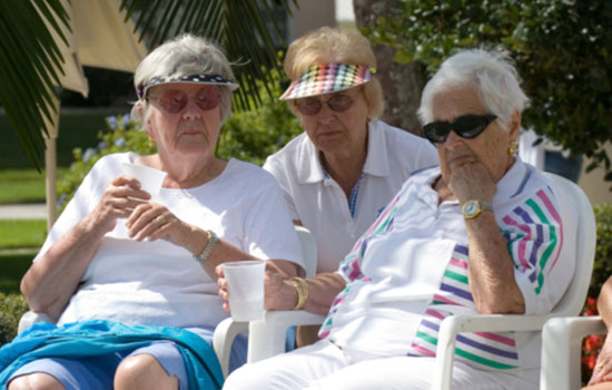 geriatricarea golpe de calor