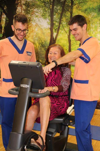 geriatricarea ballesol ejercicio físico
