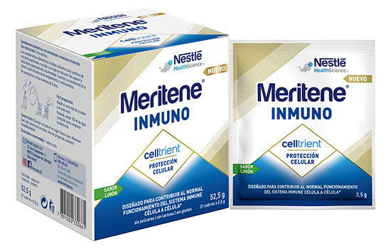 geriatricarea nutricion celular Meritene Inmuno