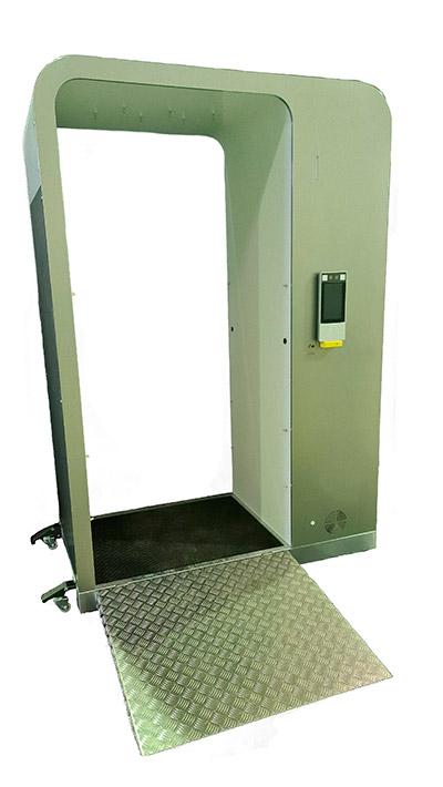 geriatricarea cabina higienizante Traneco