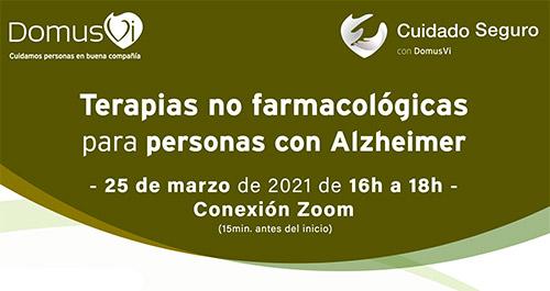 terapias no farmacologicas Alzheimer