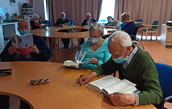 geriatricarea Amavir Clubs de Lectura