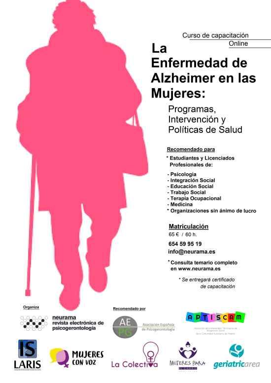 geriatricarea Alzheimer en mujeres