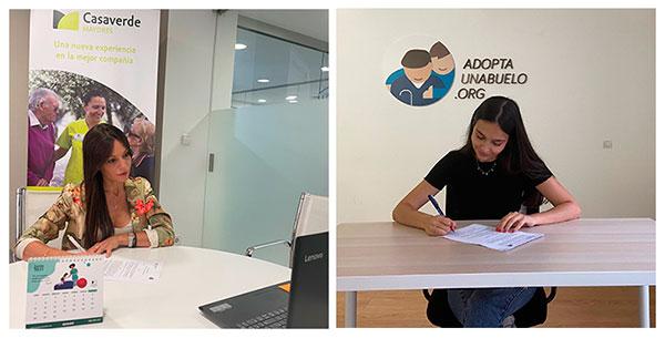 geriatricarea Grupo Casaverde Adopta Un Abuelo