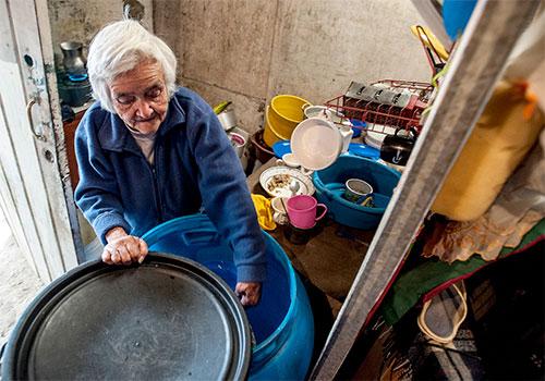 geriatricarea personas mayores refugiadas