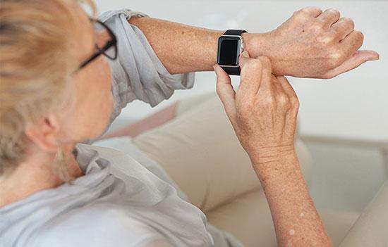 geriatricarea wearables parkinson