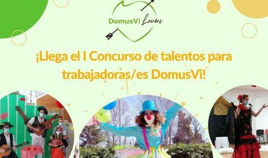 Geriatricarea Concurso de talentos DomusVi Lovers