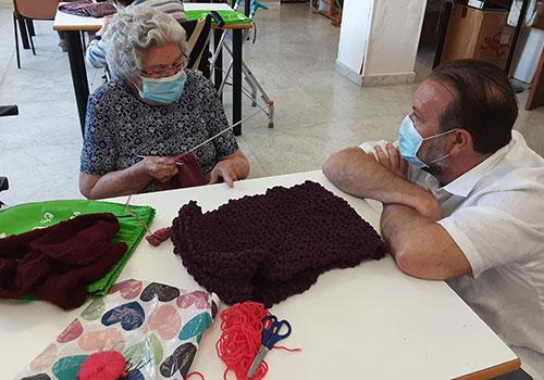 geriatricarea amavir Tejiendo salud
