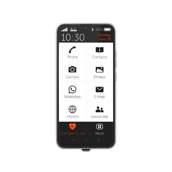 Geriatricarea smartphone GS4 senior de Gigaset