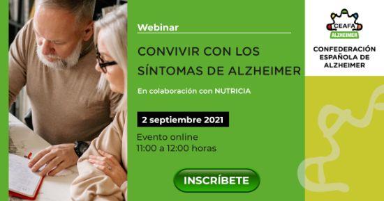 Geriatricarea webinar Convivir con los síntomas del Alzheimer