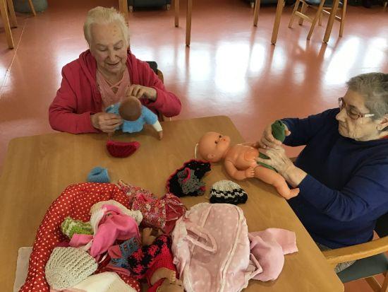 Geriatricarea Doll Therapy de DomusVi