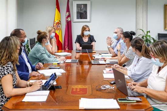 Geriatricarea equipo impulsor de la Ley de Servicios Sociales de la Región de Murcia