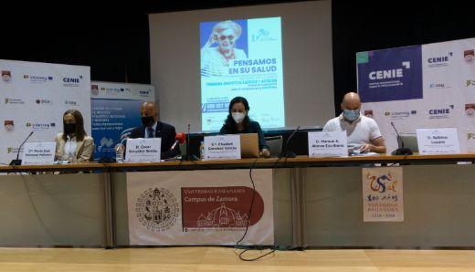 Geriatricarea rueda de prensa del CENIE sobre investigación de sarcopenia